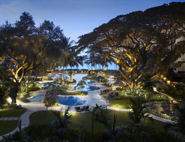 Garden Wing Swimming Pool Shangri-La Rasa Sayang