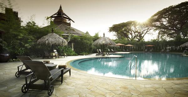 Rasa Wing Swimming Pool Rasa Sayang Resort and Spa by Shangri-La Penang Travel Guide