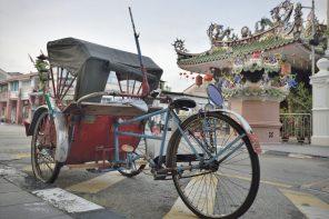 Trishaw tour of Georgetown Penang