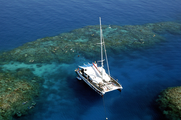Passions of Paradise Great Barrier Reef Tour Review - Boat