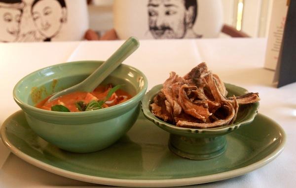 Celadon Restaurant Kuala Lumpur Thai Prawn Curry