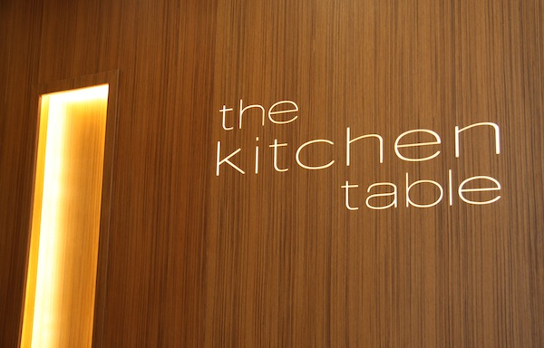 The Kitchen Table Restaurant At W Singapore