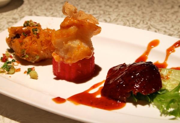 Hai Tien Lo Restaurant in Pan Pacific Review Trio of Treasures