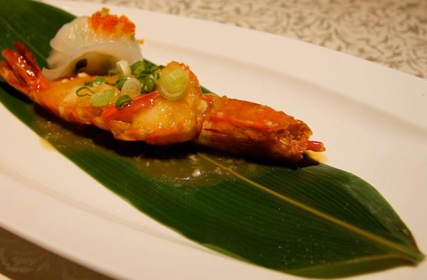 Hai Tien Lo Restaurant in Pan Pacific Review Stewed King Prawn