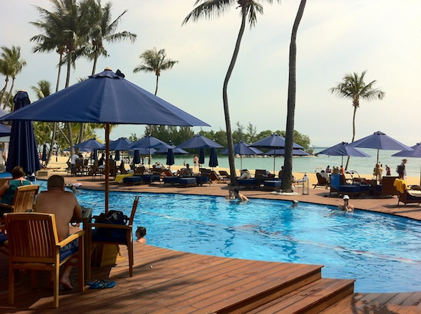 Singapore Travel Blogger - Beach Clubs