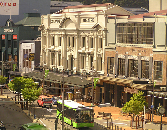 St James Theatre Wellington New Zealand