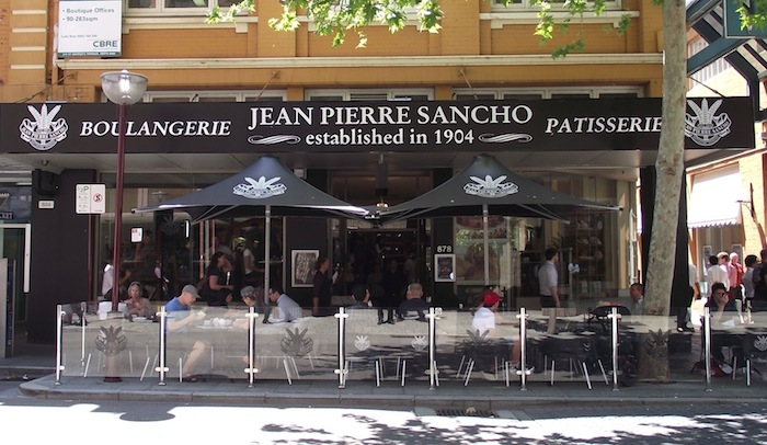 Jean Pierre Sancho Bakery Perth