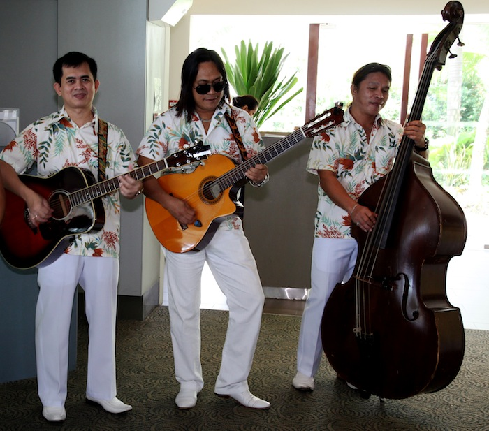 Garden Party by the Sea at Shangri-La's Rasa Sentosa Resort Band