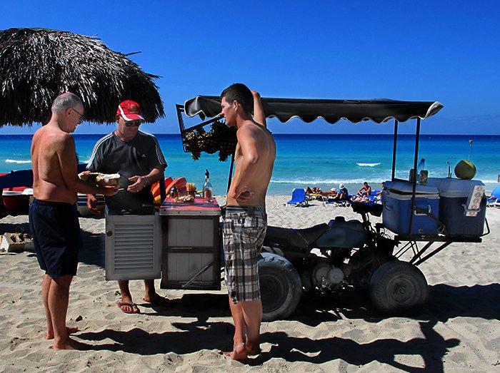 Coconuts on the Beach Cuba