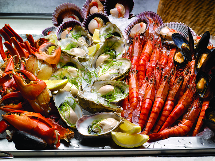 Seafood Fiesta Buffet Parkroyal on Beach Road