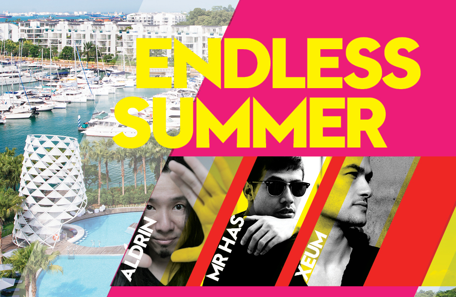 Endless Summer Pool Party at W Singapore Sentosa Cove
