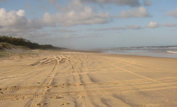Fraser Island Australia Sand Dunes