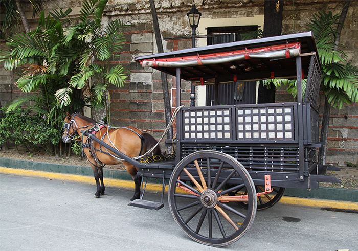 Horse Drawn Carriage Intramuros Manila