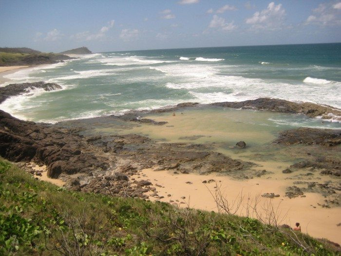 Champagne Pools  Fraser Island Australia 3 Day Expedition