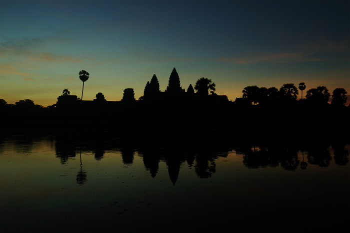 Angkor Wat Cambodia Temples Sunrise