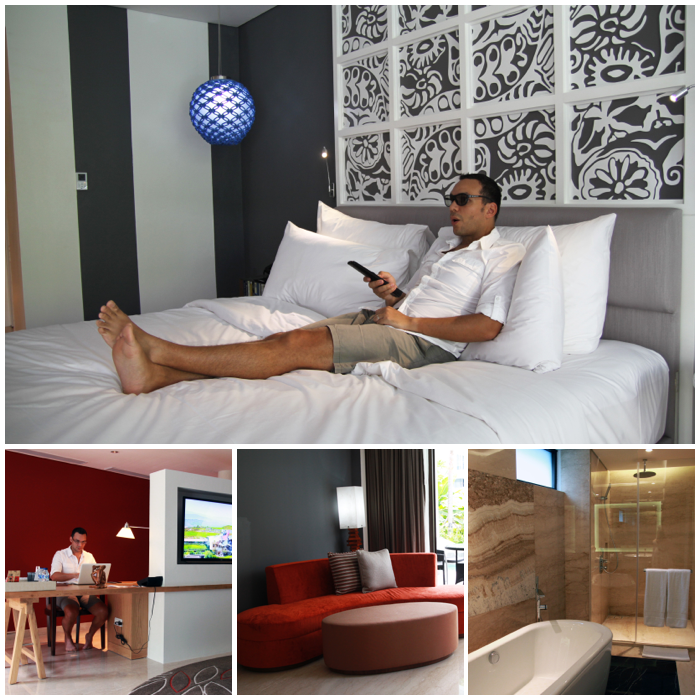 Aqua Studio Suite with Lagoon Access Le Meridien Bali Jimbaran Resort