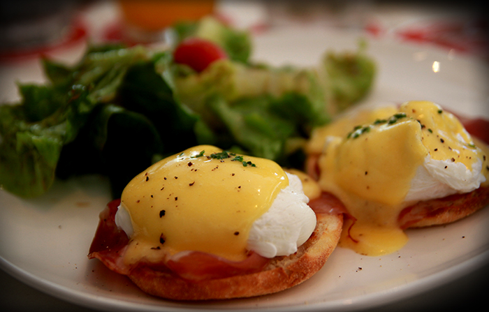 O Batignolles Singapore Eggs Benedict Champagne and Croissants Brunch
