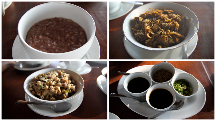 Organic Breakfast at Kaliandra Eco Resort