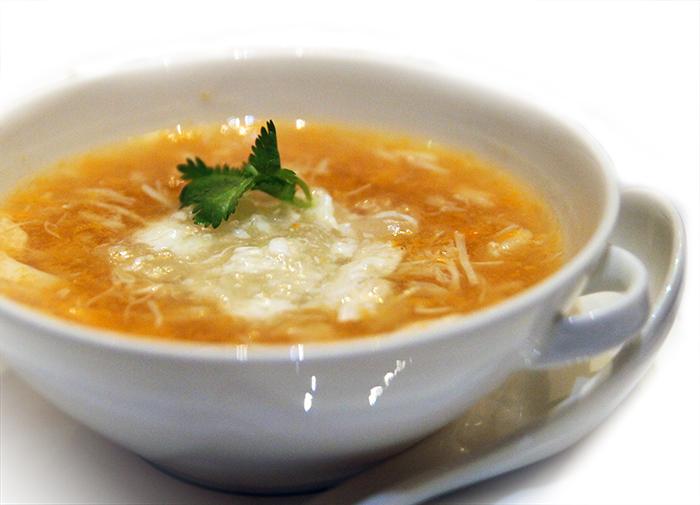 Lunar New Year Dinner at Jade Restaurant Singapore Bird Nest Soup