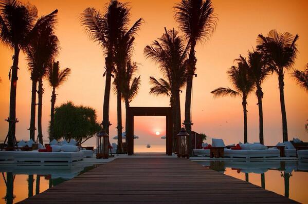 Nikki Beach Phuket Sunset