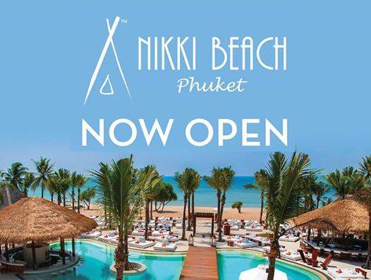Nikki Beach Phuket Grand Opening