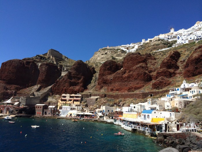Amoudi Bay Santorini Greece Travel Review