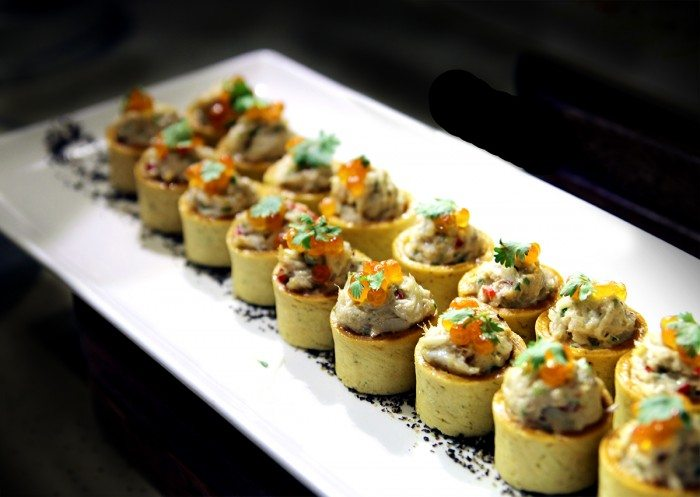 Crab Tartlets The Ultimate Crab Feast at Plaza Brasserie