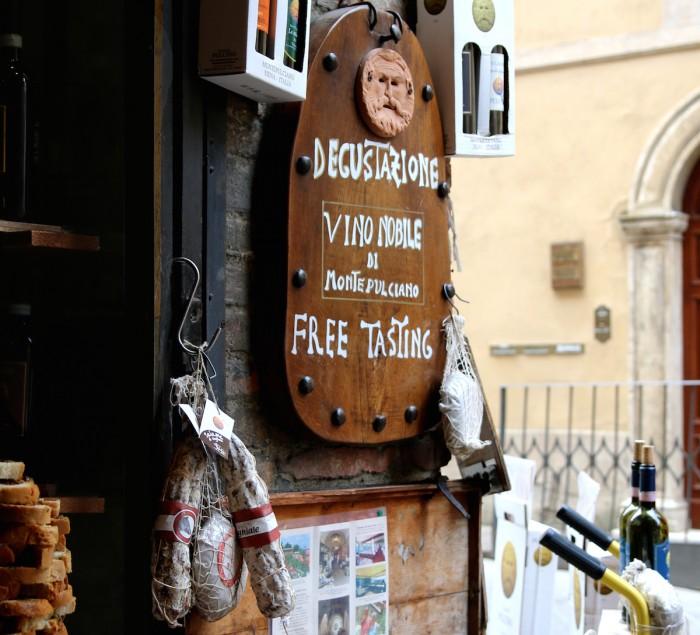 Montepulciano Italy Wine Tasting Vino Nobile