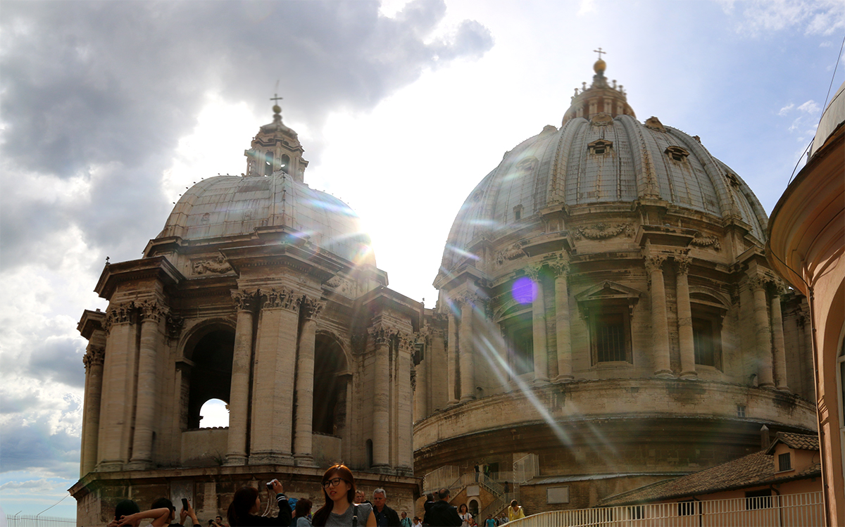 St Peters Basilica Dome Rome Top Sights