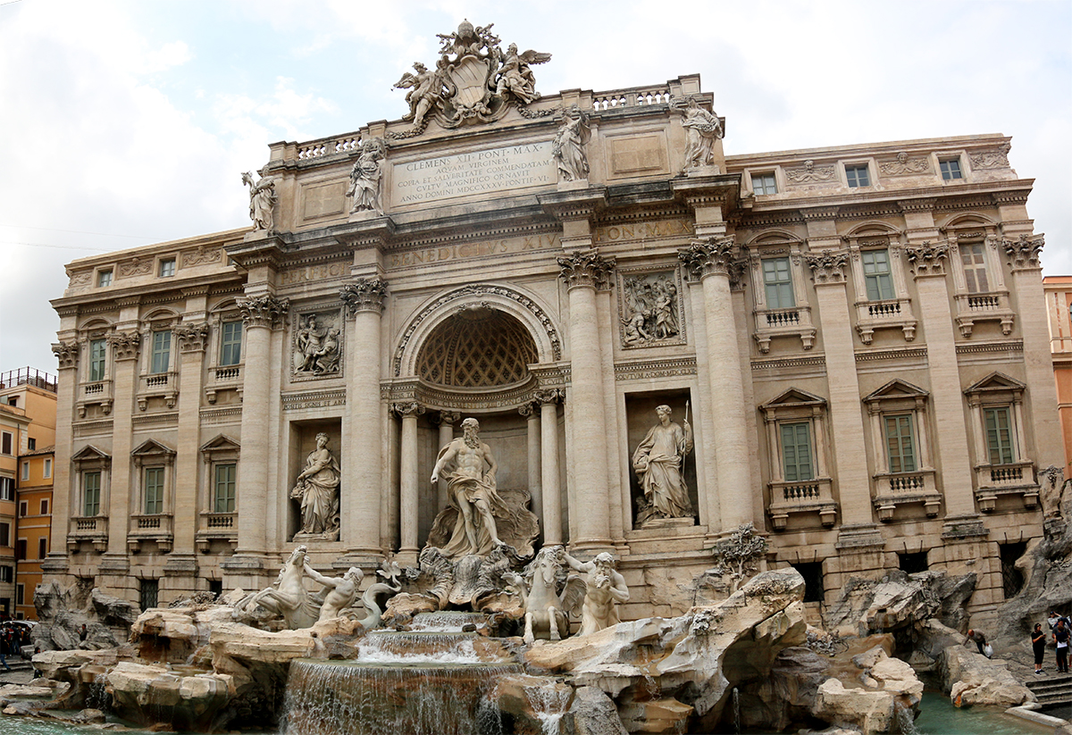 Trevie Fountain Rome Top Sights