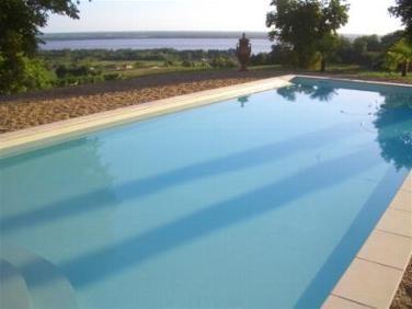 Chateau Bellevue Pool Bordeaux