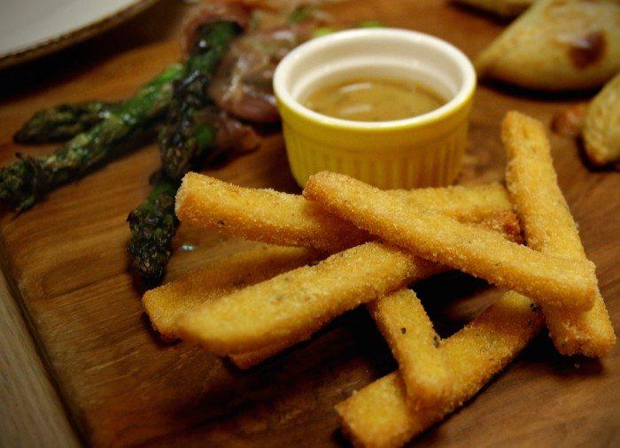 Polenta Fries Ricciotti Riverwalk Singapore