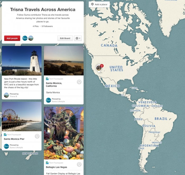 Trisna Travels Accross USA Pinterest