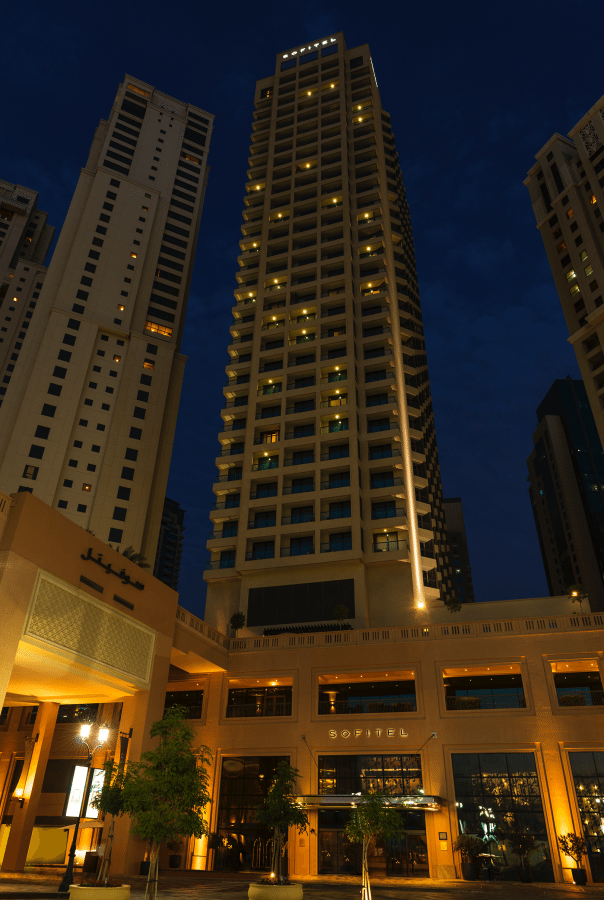 24 Hours in Dubai Sofitel Jumeriah Beach