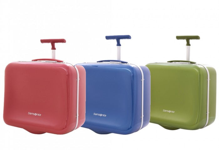 samsonite marshmallow carryon luggage