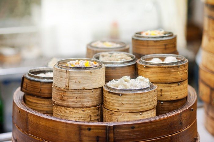 Dim sum steamers at a Chinese restaurant, Hong Kong. Hong Kong Top Experiences