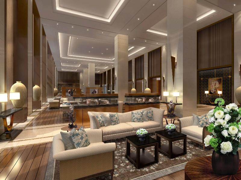 Fairmont Jakarta lobby soft opening