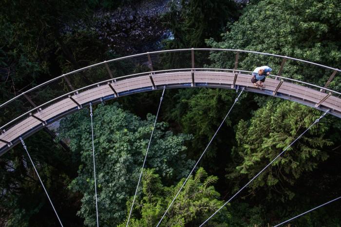Best Vancouver Winter Activities - Capilano Suspension Bridge