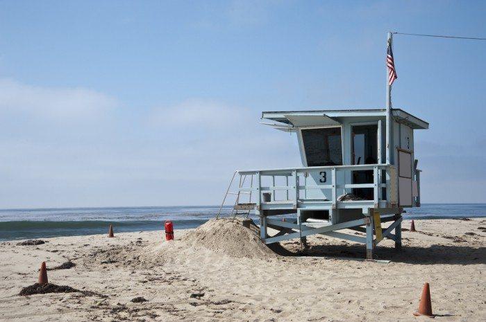 spiaggia a Venice beach a Los Angeles, California - America's Top Cities
