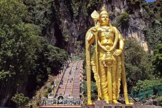 Lord Murugan Batu Caves Kuala Lumpur Selangor Malaysia Asia