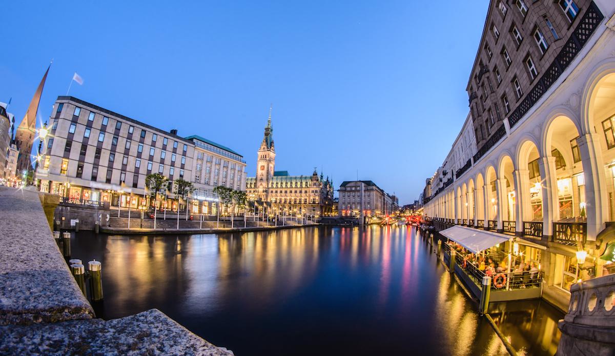 Weekend trip to Hamburg Germany, city center