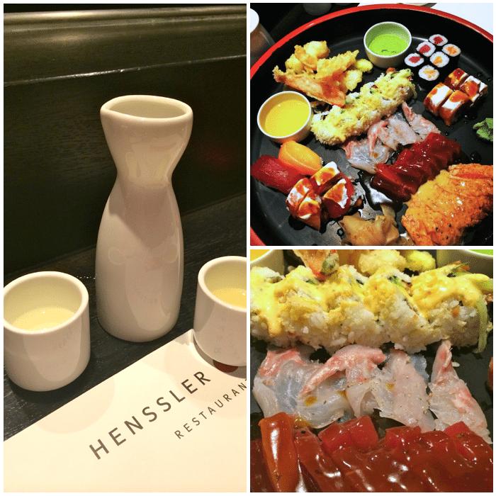 Weekend trip to Hamburg Germany Henssler and Henssler Restaurant