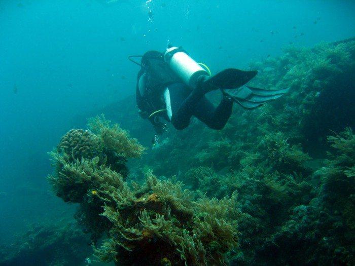 Wreck dive at Tulamben Bali