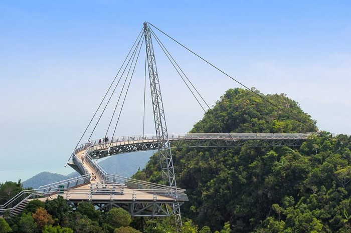 Langkawi Sky Bridge - World's longest suspension bridge