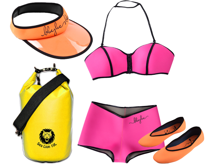 Neoprene Swimwear beach look