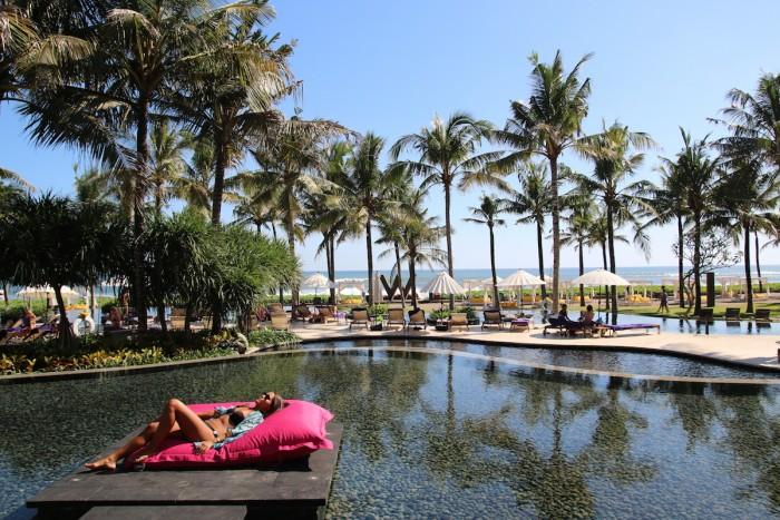 W Retreat and Spa, Bali- Resort Pool and Beach