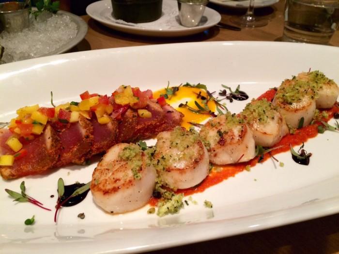 Seared Tuna and Scallop Wild Tale