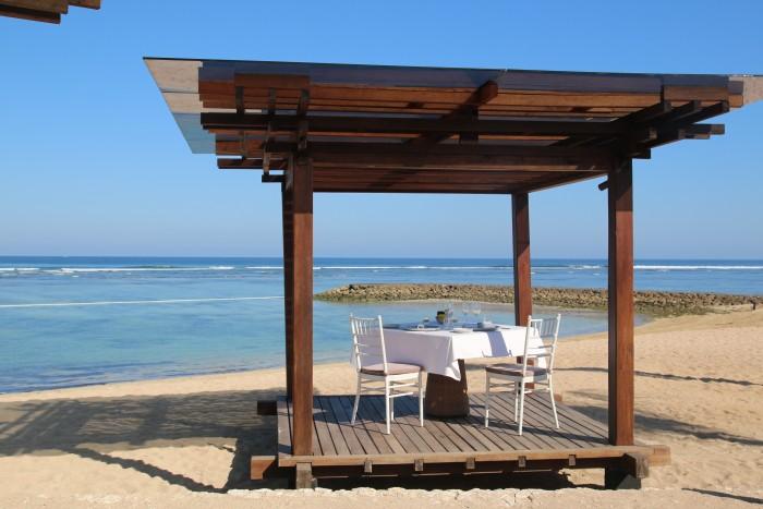 The Ritz-Carlton Bali- Beach Grill