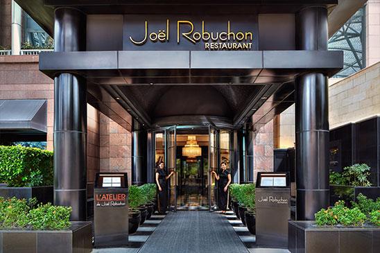 Celebrity Chef Restaurant Singapore - Joel Robuchon