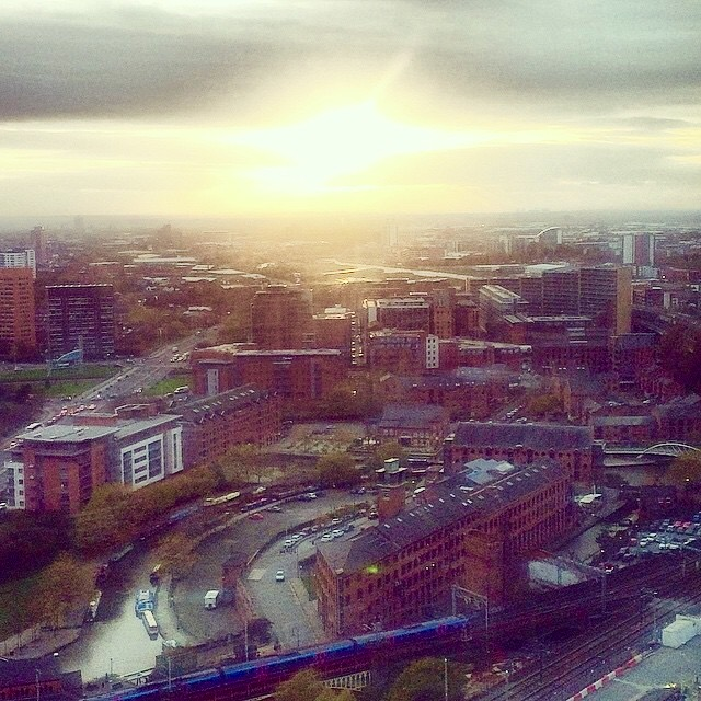city view - manchester